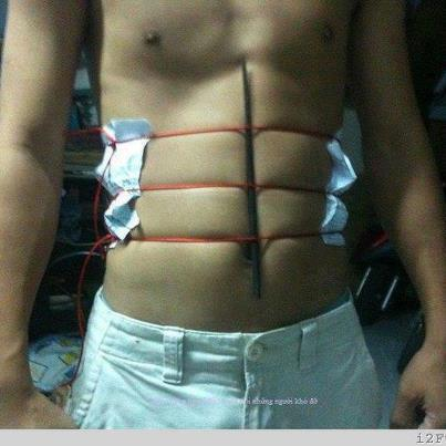 How to have 6 pack