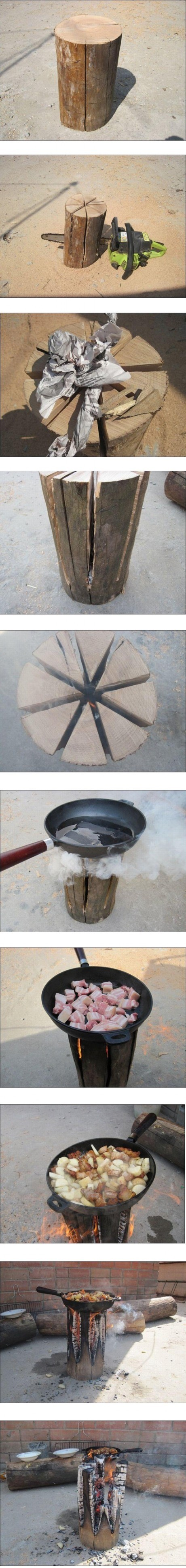 Cooking in hight level
