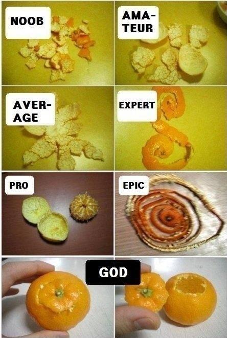 Orange Peel Level
