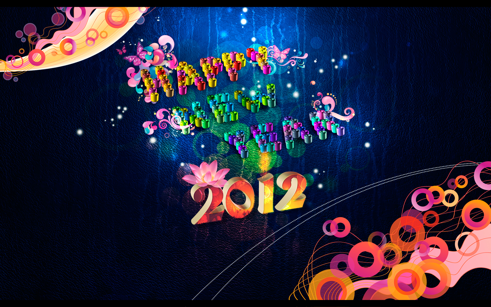 Colorful 2012 Background