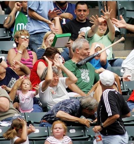 Baseball accident