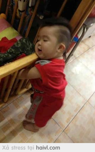 Sleep so kute baby