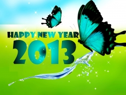 Art Wallpaper - Happy-new-year-2013
