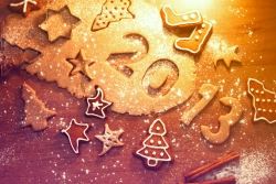 Art Wallpaper - Hd wallpaper happy new year 2013 with star