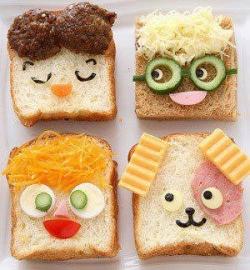 Funny photos - Face bread