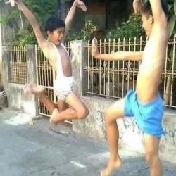 Funny photos - Real Kungfu