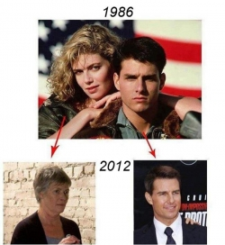 Movie picture - Mission imposible 1986 - 2012
