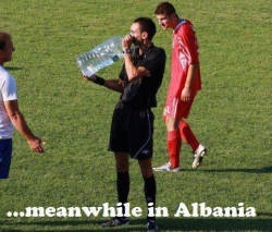 Funny photos - Albania arbitration
