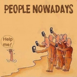 Funny photos - People nowadays