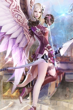 Animated/Cartoon Wallpaper - Aion Fantasy Archer