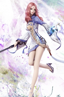 Animated/Cartoon Wallpaper - Aion-Game-Girl-640x960