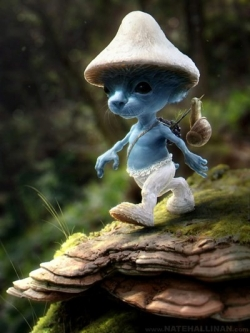 3D and Digital art Wallpaper - Avatar smurfs