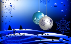 Christmas Wallpaper - Bright  shining christmas