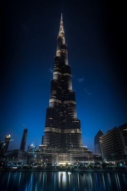 Art Wallpaper - Burj Khalifa Skyscraper