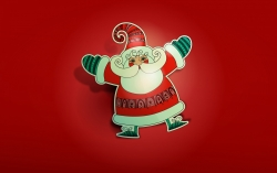 Christmas Wallpaper - Father christmas santa claus