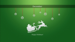 Christmas Wallpaper - Happy december holidays