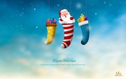 Christmas Wallpaper - Happy holidays 2013