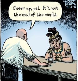 Funny photos - It's not the end of the world