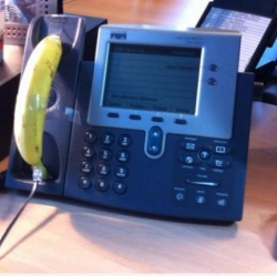 Funny photos - Never leave desk unattended.