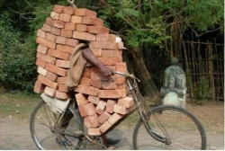 Funny photos - India bycicle