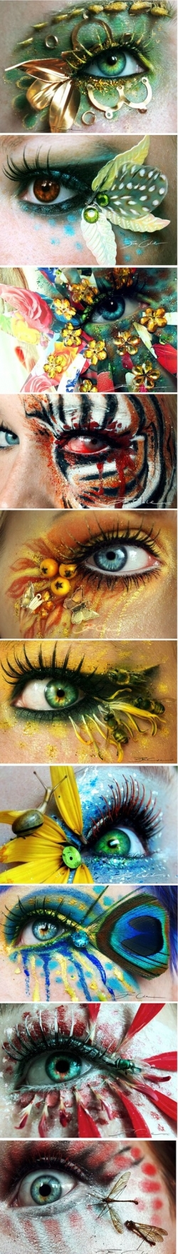 Miscellaneous pictures - Eye makeup art