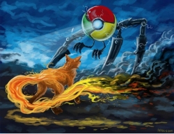 Funny photos - Chrome vs firefox