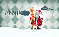 Art Wallpaper - New year 2013