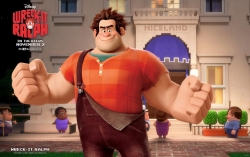 3D and Digital art Wallpaper - Ralph in wreck it ralph