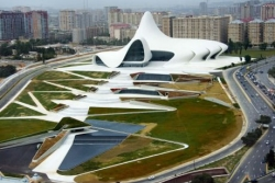 Funny photos - auditorium and museum in Azerbaijan