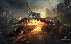 Game Wallpaper - World of tanks online game