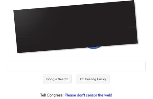 Stop SOPA & PIPA - Google