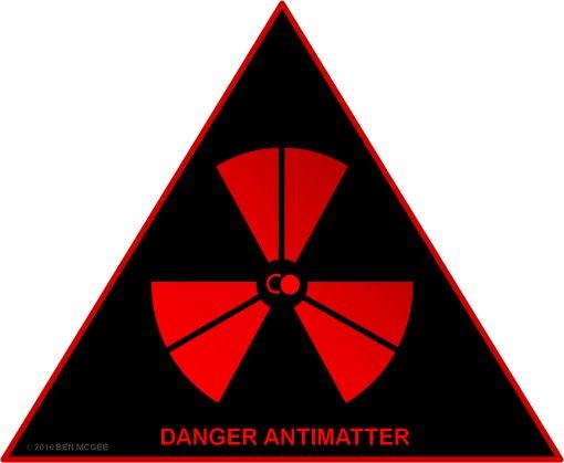 Danger antimatter
