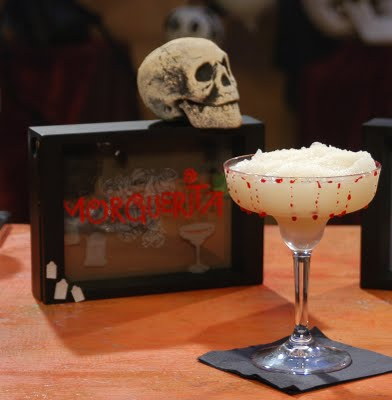MORGERITA Halloween cocktail