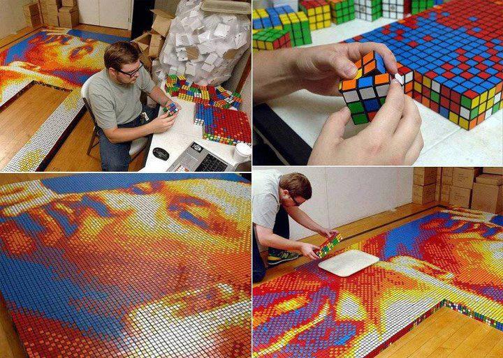Rubik man