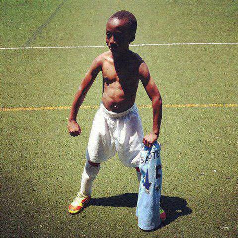 Balotelli style baby