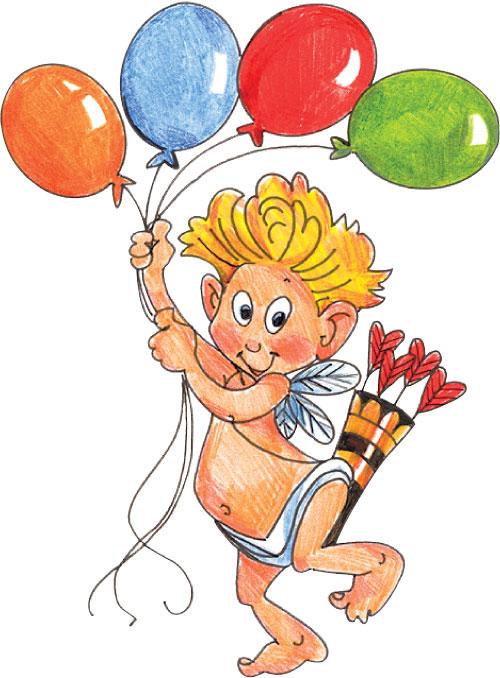 Cupid Balloons