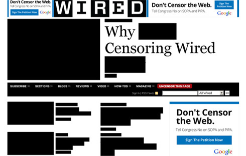 Stop SOPA & PIPA - Wired
