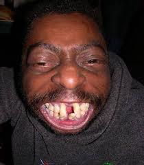 Beautiful man with amazing teeth