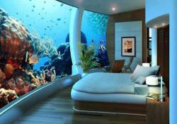 House pictures - Under water bedroom