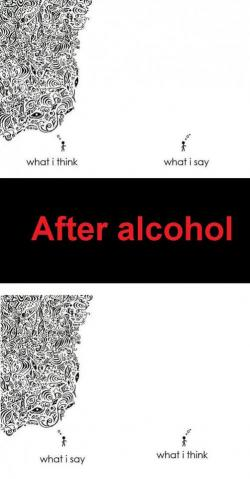 Funny photos - Before and after alcohol