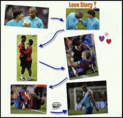 Funny photos - Love story - Football