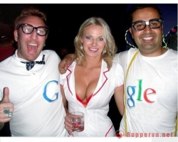 Funny photos - Google doodle Happy birthday
