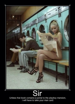 Playboy photos - Washing Machine