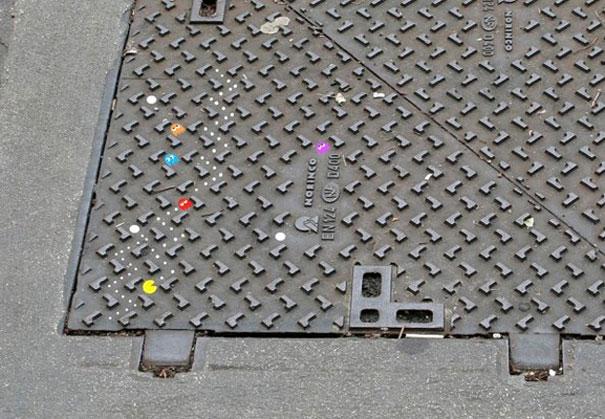 Pac-Man on the street
