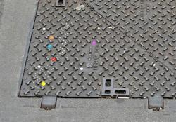 Funny photos - Pac-Man on the street