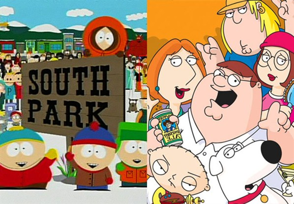 Family guy vs south park
