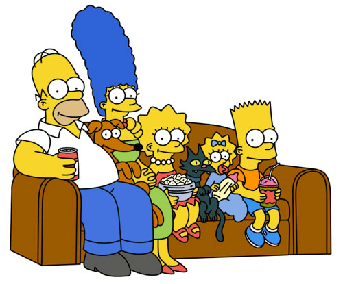 the simpsons couch 1