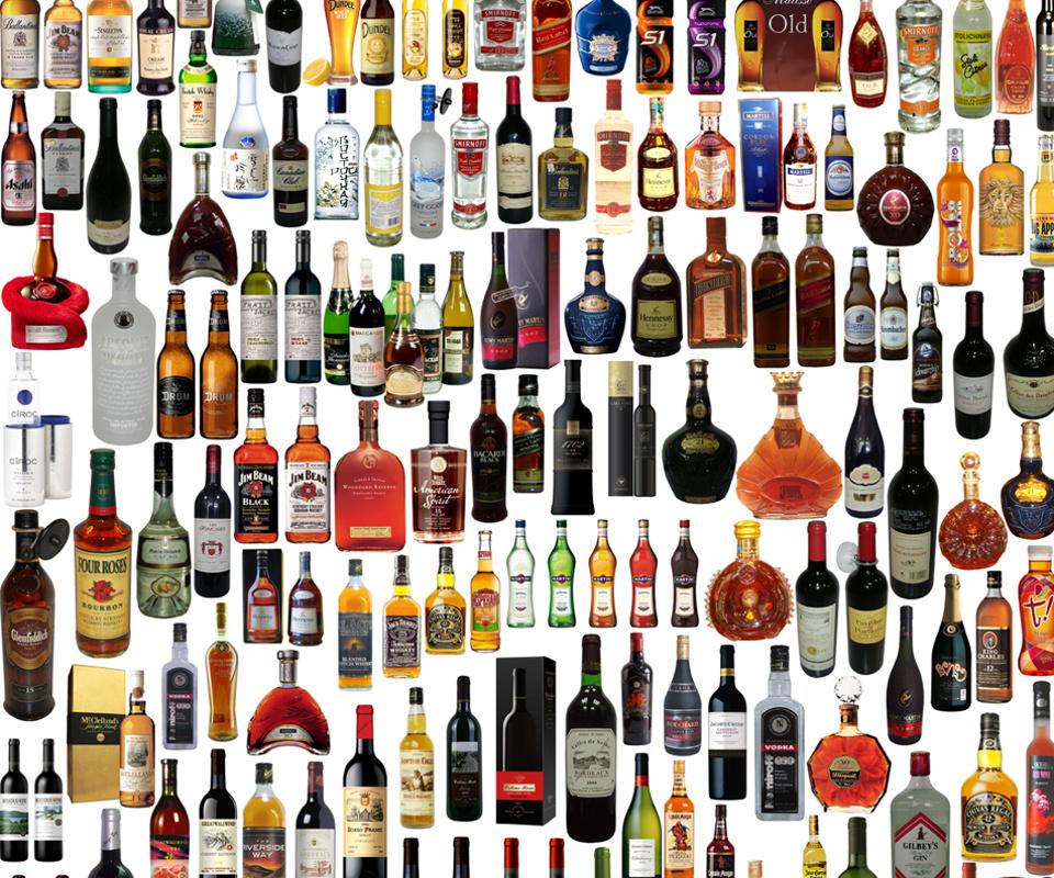 Few drinks