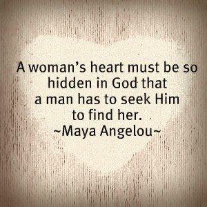 Seek God... to find her!