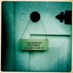 Funny Wallpaper - Come in ....
